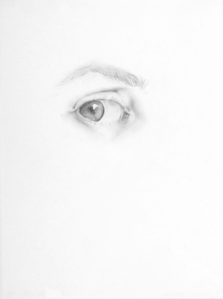 Mis ojos, 1997 by © Maria Cristina Carbonell